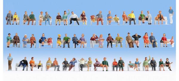 Noch 18402 Set 60 personaggi seduti economici