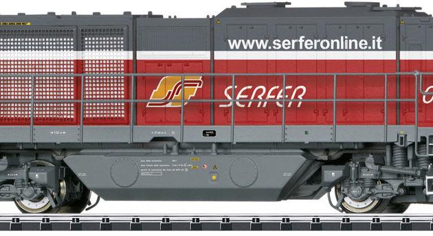 Trix 22343 Locomotiva diesel Serfer G 2000 BB Vossloh