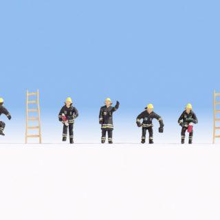 Noch 36021 Vigili dal fuoco (abiti neri  di protezione)