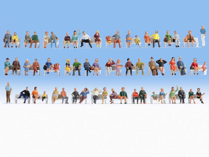 Noch 38402 Set 60 personaggi seduti economici