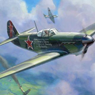 ZVEZDA 4817 YAK-1B Soviet Fighter