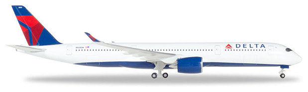 Herpa 530859-001 Airbus A350-900 XWB Delta Airlines