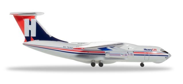 Herpa 532785 Ilyushin IL-76 HeavyLift Cargo