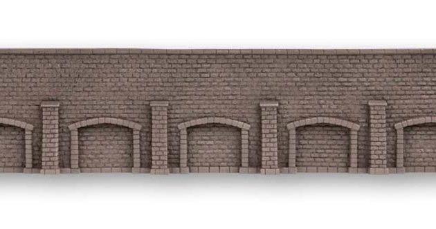 Noch 58277 Muro con arcate lungo