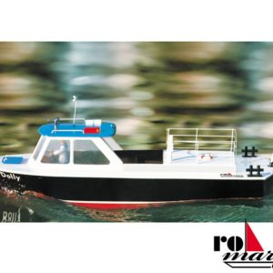 Krick RO1005 Dolly Harbor Barge  1:20 RC-Model