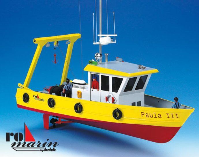 Krick RO1159 Paula imbarcazione da lavoro