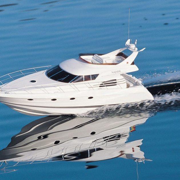 Krick RO1160 Najade motoryacht di lusso