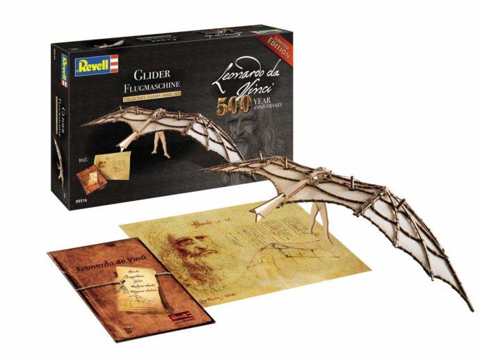 REVELL 00516 Leonardo da Vinci Glider