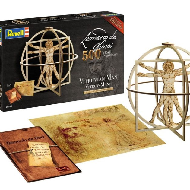 REVELL 00519 Leonardo da Vinci Vitruv Man