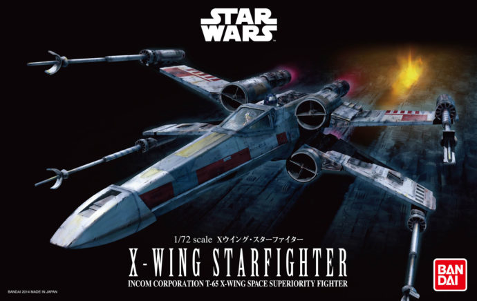 Revell 01200 Star Wars Bandai X-Wing Starfighter