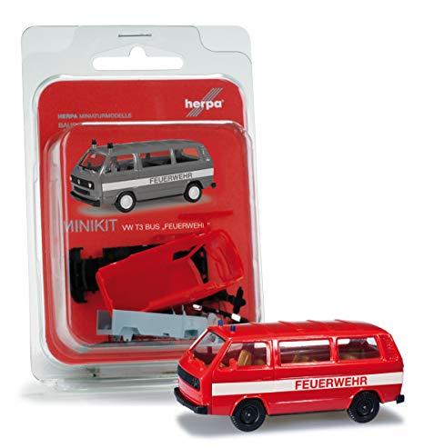 """Herpa 012591 MINIKIT VW T 3 BUS """"FEUERWEHR"""""""