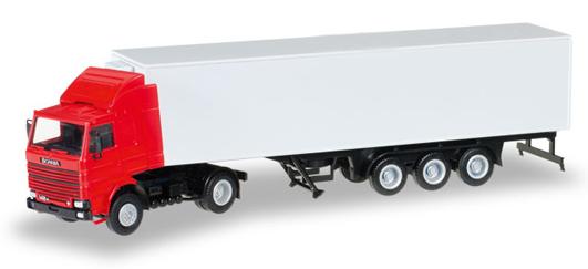 Herpa 012850 Minikit  Scania 142 articolato frigo