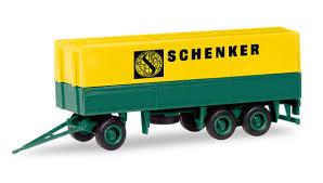 """Herpa 013338 Minikit Mercedes Benz """"Schenker"""""""