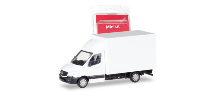 Herpa 013437 Minikit Merceds Benz Sprinter '13
