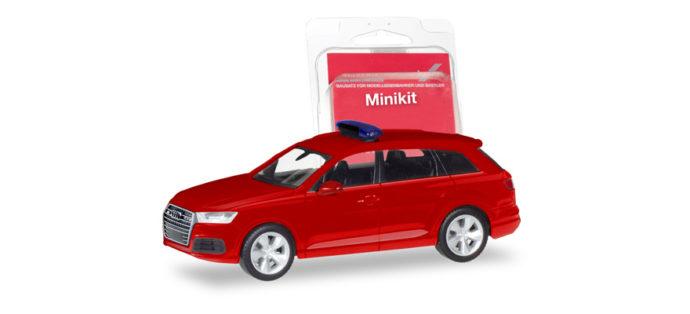 """Herpa 013536 Minikit Audi Q 7 """"Pompieri"""""""