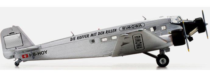 "Herpa 019163 JUNKERS JU-52 ""RIMOWA"""