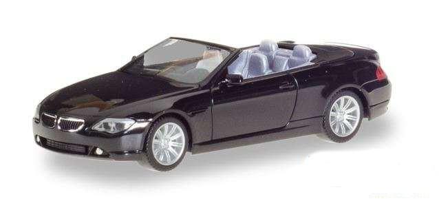 Herpa 023245-002 BMW 6 serie Cabrio