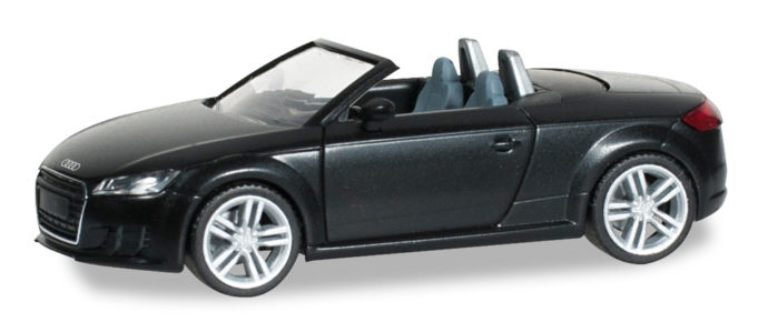 Herpa 028400 Audi TT roadster nero brillante
