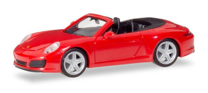 Herpa 028844 Porsche 911 Carrera Cabrio
