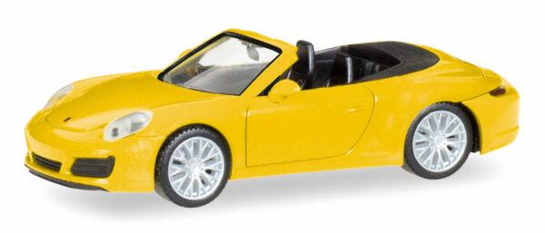Herpa 028899 Porsche 911 Carrera 4S Cabrio