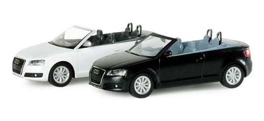 Herpa 033992 Audi A3 convertibile metalliz