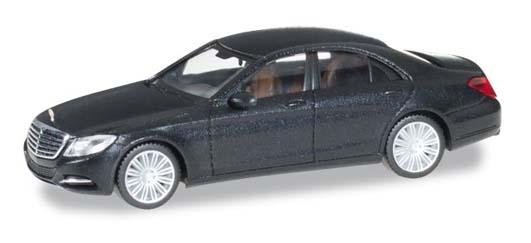 Herpa 038287-003 Mercedes Benz classe S nero ossido