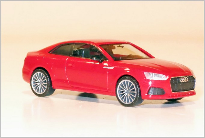"Herpa 038805 Audi A5 coupè ""Black Edition"""