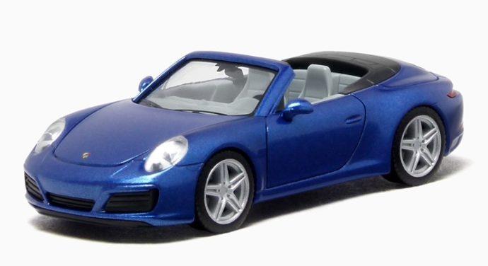 Herpa 038843 Porsche 911 Carrera Cabrio
