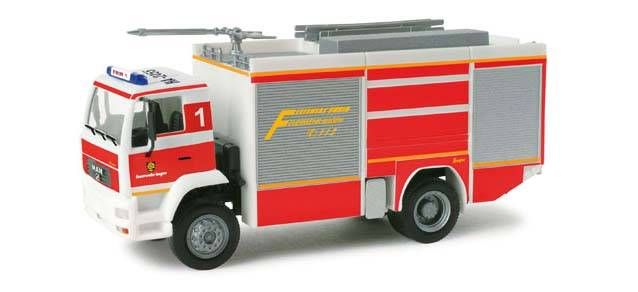 Herpa 048484 MAN LE 2000 TLF pompieri Hagen