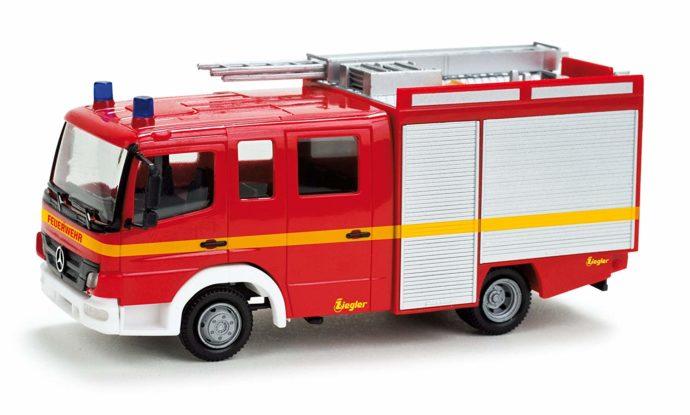 Herpa 049146 MB Atego 10 LF 10/6 pompieri