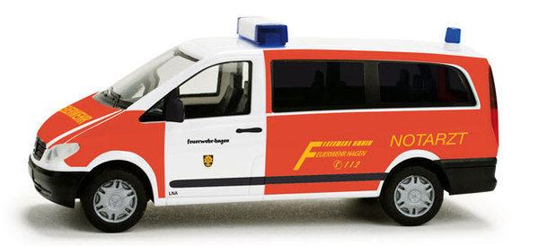 "Herpa 049184 MB Vito Bus "" Pompieri Hagen"""