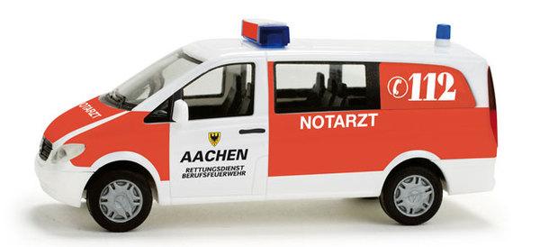 "Herpa 049245 MB Vito Bus ""Pompieri Aachen"""