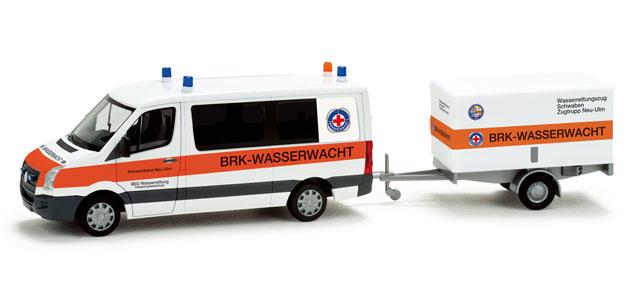 """Herpa 049313 VW CRAFTER BUS """"BRK-ULM"""""""