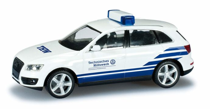 """Herpa 049542 Audi Q5 """"THW Pfaffnhofen"""""""