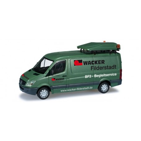 "Herpa 049849 MERCEDES BENZ SPRINTER  ""WACKER"""