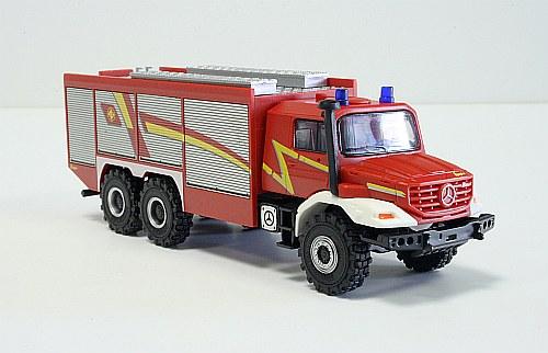 Herpa 049993 Mercedes Benz Zetras pompieri