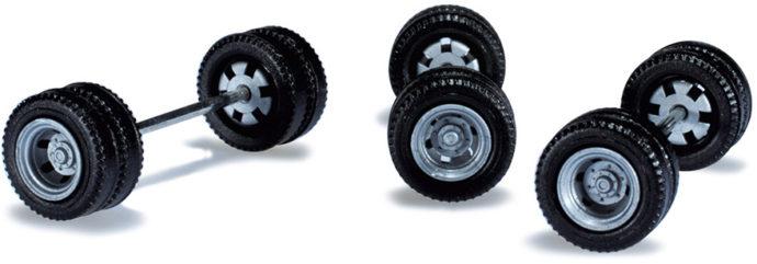 Herpa 053273 Assali ruote 21 pezzi