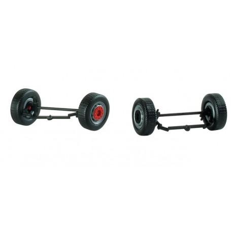 Herpa 053303 Assali con ruote