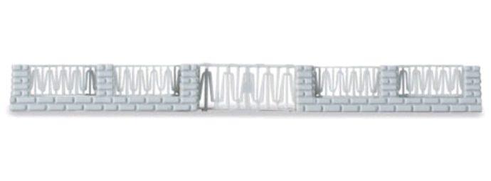 Herpa 053457 Recinzioni a muro con uscita 10 pz.