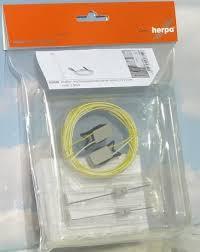Herpa 053549 Lampioni parcheggio piccolo 10x6 mm (2pz)