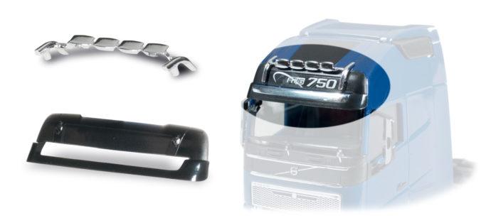 Herpa 053655 Lampeggianti per Volvo GI.XL (6 pezzi)