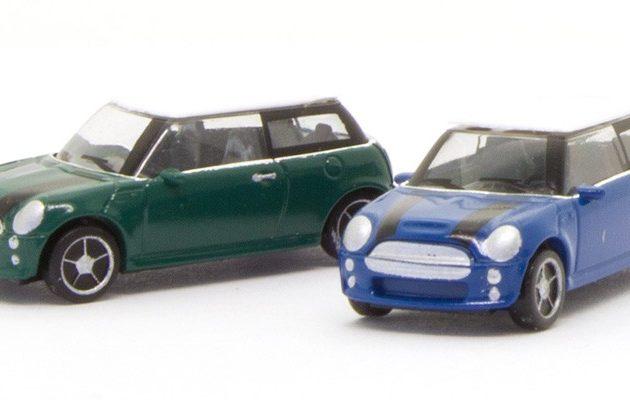 Herpa 065252-003 Mini Cooper  (2 pezzi)