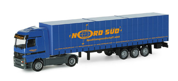 "Herpa 065559 MB ACTROS LH ""NORDSUD"""