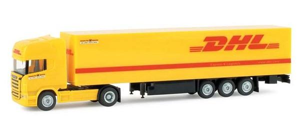 """Herpa 065580 SCANIA R TL """"DHL"""""""