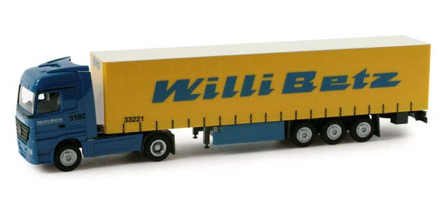 "Herpa 065689 MB Actros LH ""Willi Betz"""