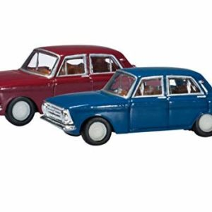 Herpa 065733 MOSKWITSCH 408 2 SET
