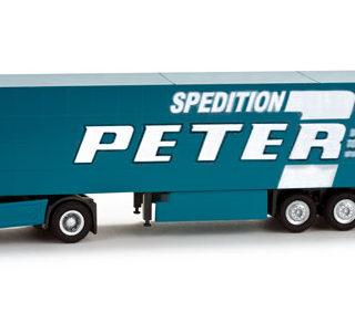 """Herpa 065900 MB Actros LH 02 Gardinenplanen """"peter"""""""