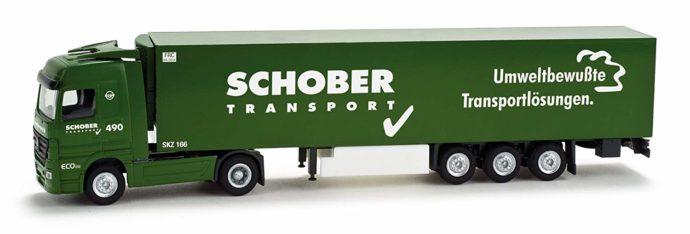 """Herpa 065948 MB Actros LH 02 """"Schober"""""""