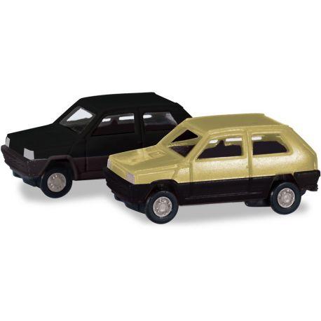 Herpa 065962-002 SET FIAT PANDA 2 pezzi