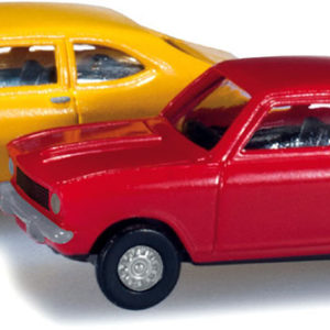 Herpa 065979 SET OPEL KADETT COUPE'